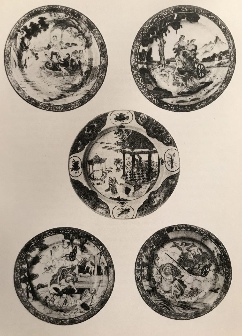 Porcelaine Qianlong (1735-1795), circa 1742, Chine