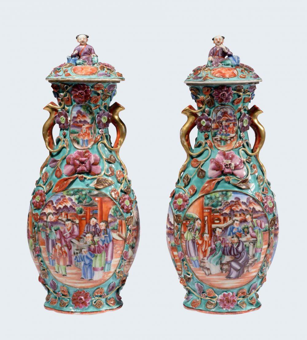 Porcelaine Qianlong (1735-1795), circa 1785, Chine