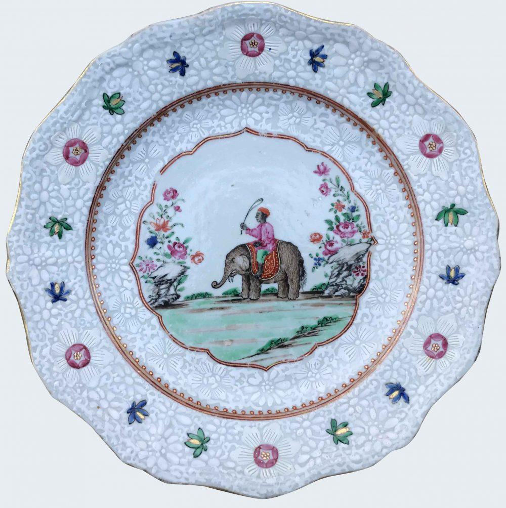 Porcelaine Qianlong (1735-1795), circa 1760, Chine