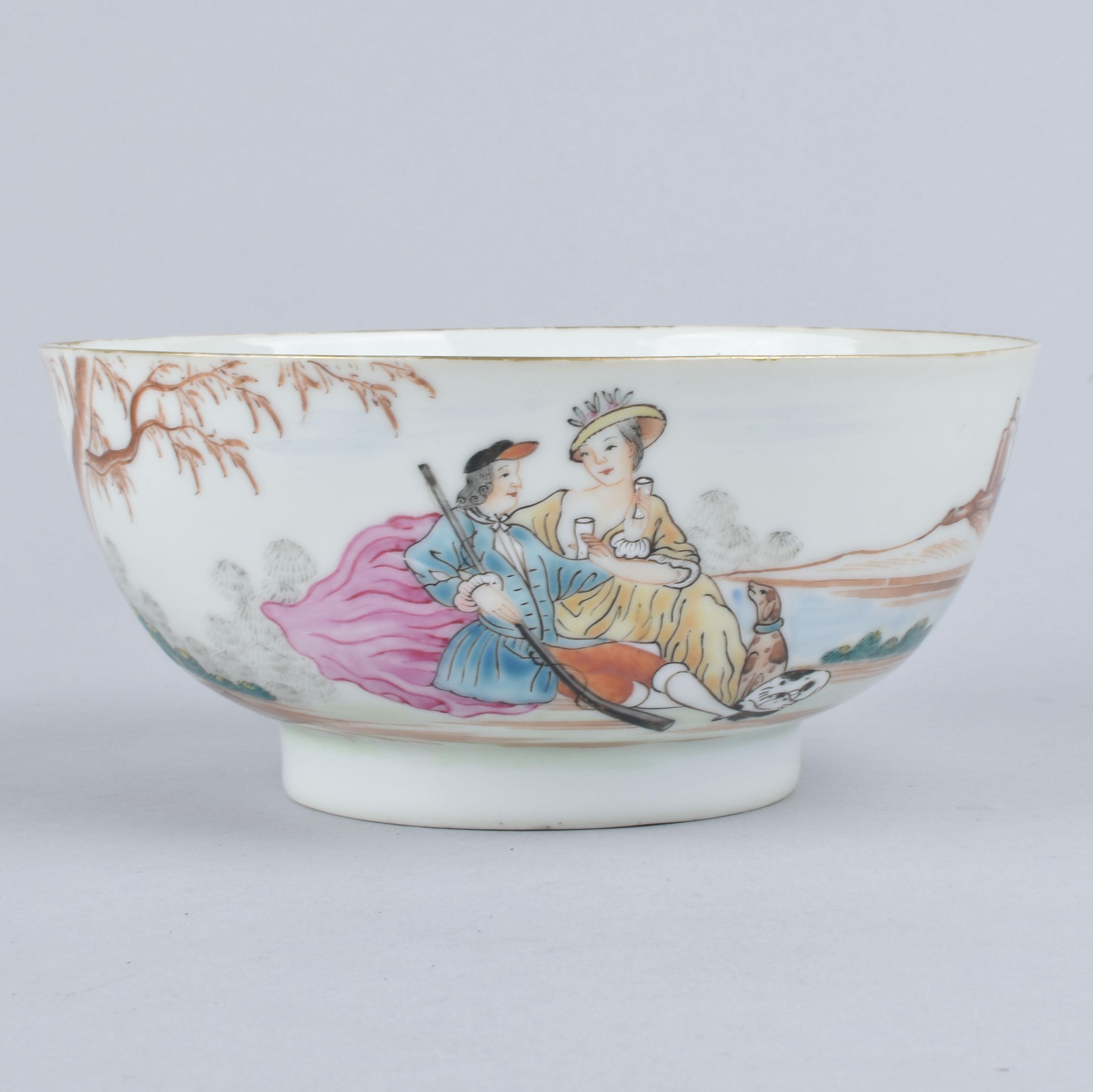 Porcelaine Qianlong (1736-1795), circa 1750, Chine