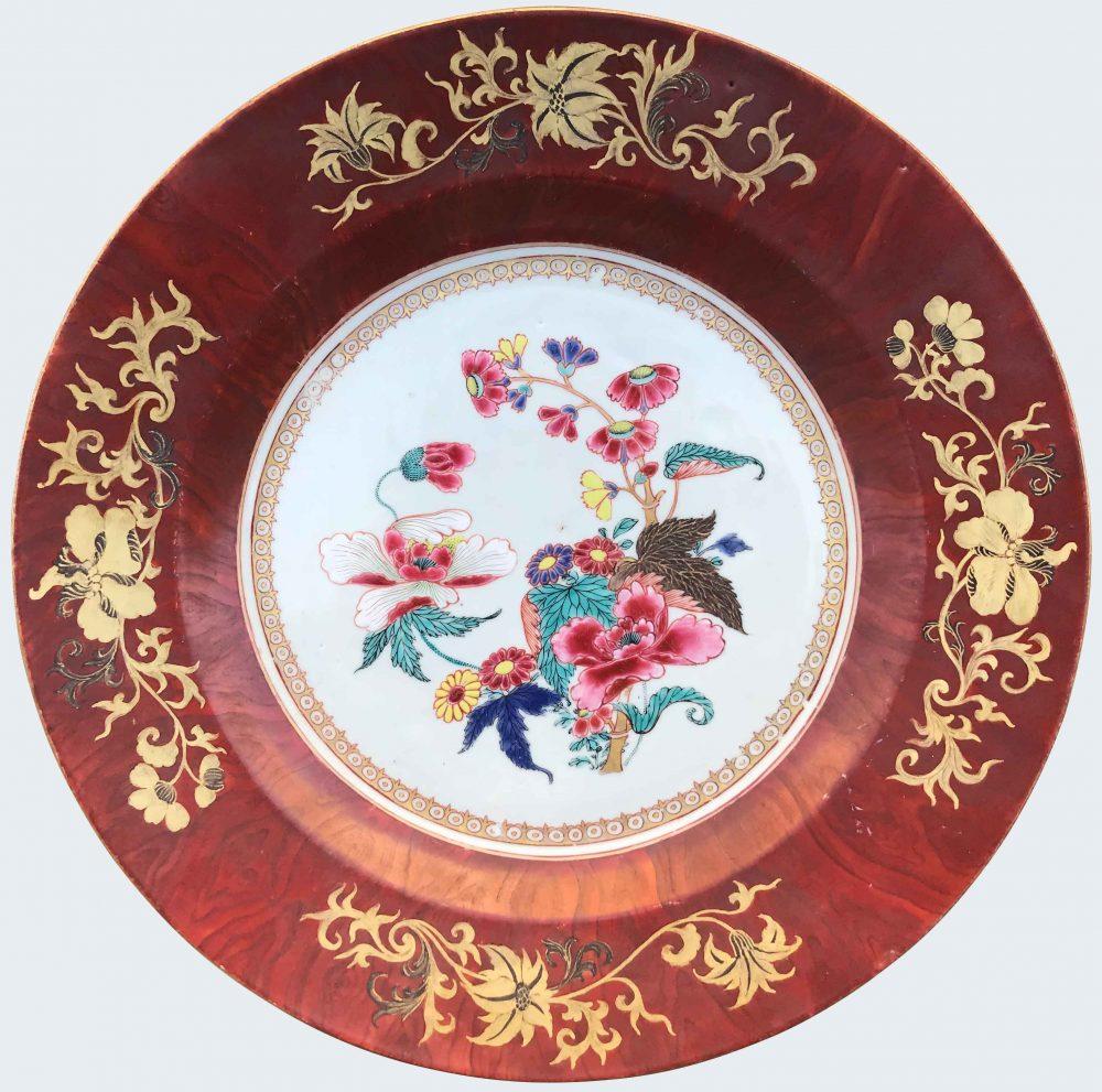 Famille rose Porcelaine Yongzheng (1723-1735) / Qianlong (1736-1795), circa 1730-1750, Chine