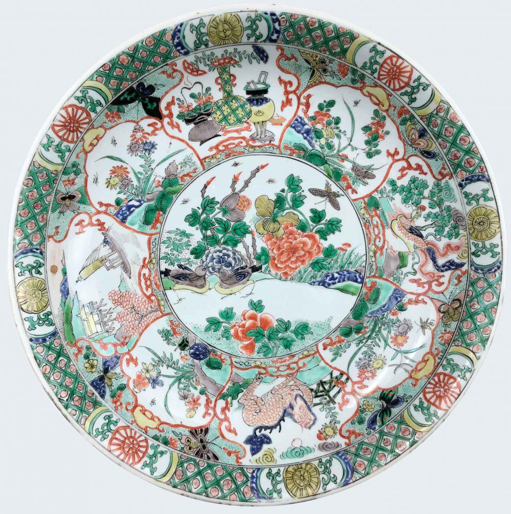Famille verte Porcelaine Kangxi (1662-1722), circa 1700-1720, Chine