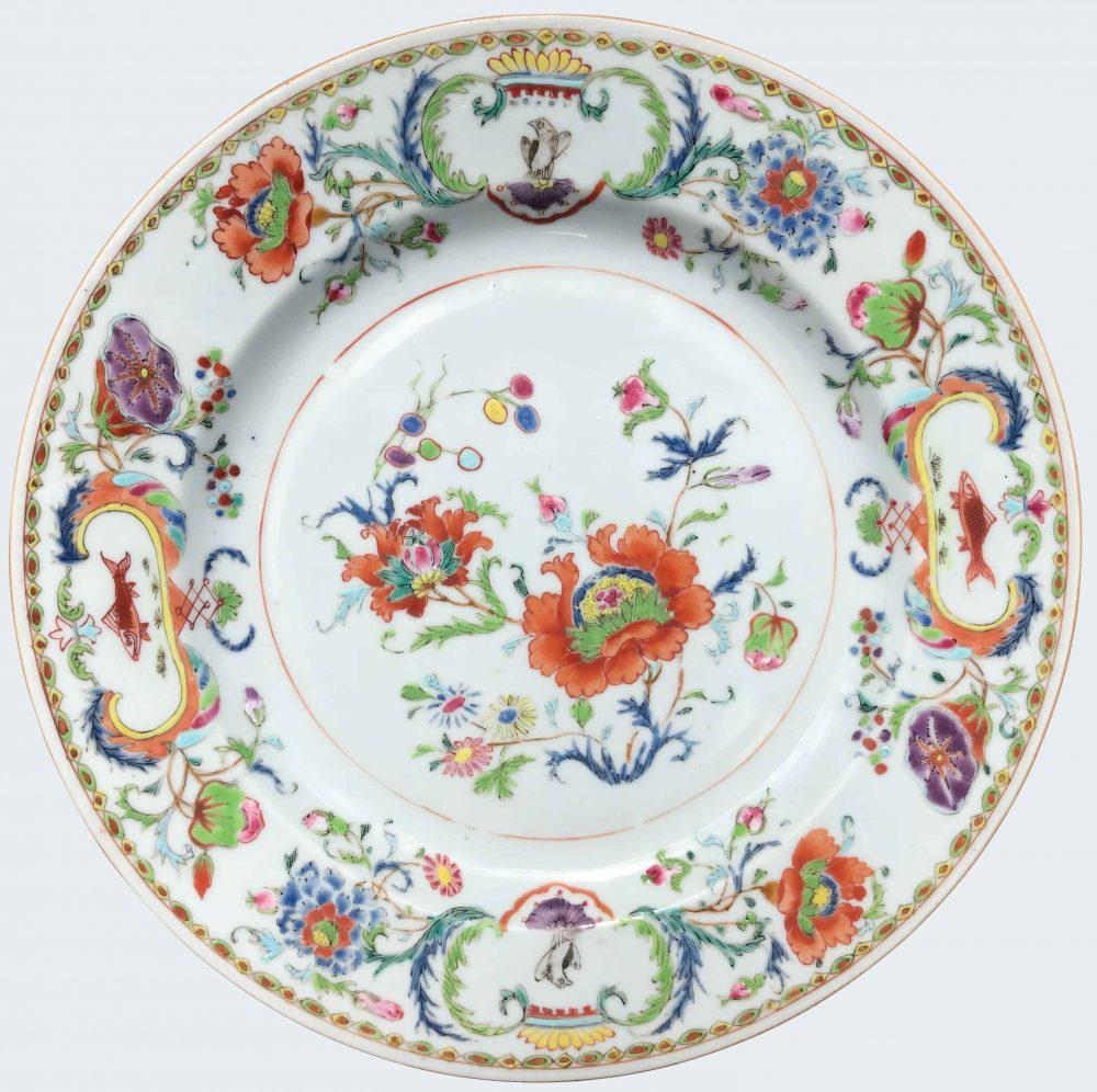 Porcelaine Yongzheng (1723-1735) ou époque Qianlong (1735-1795), Chine
