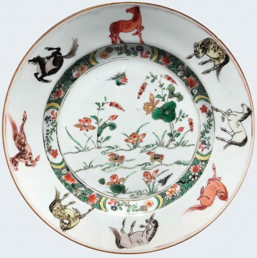 Famille verte Porcelaine Fin de l'époque Kangxi (1662-1722) - début de l'époque Yongzheng (1723-1735), ca. 1720/1730, Chine