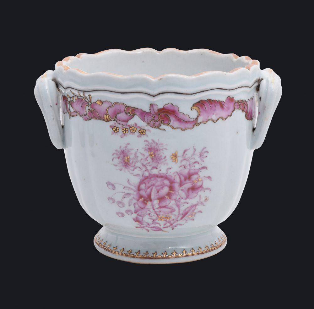 Famille rose Porcelaine Qianlong (1735-1795), ca. 1740, Chine