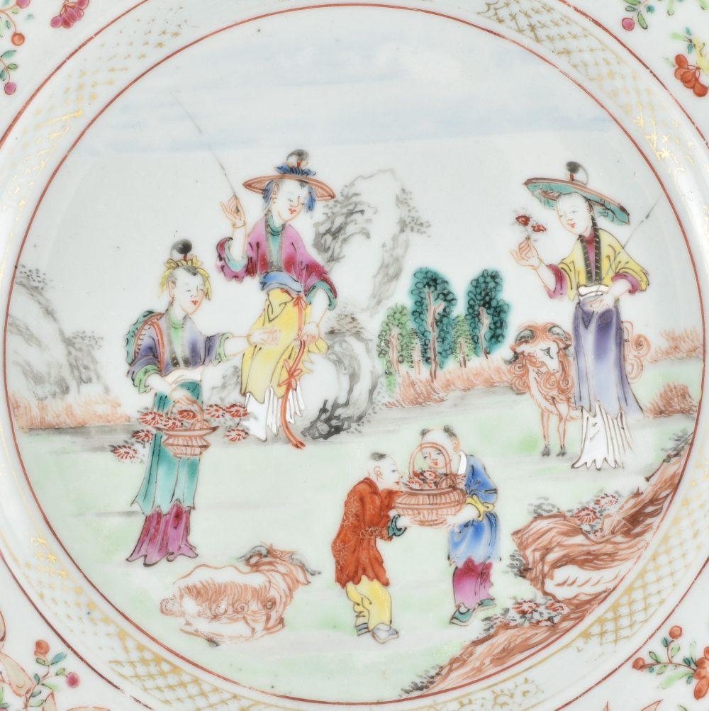 Famille rose Porcelaine Qianlong (1735-1795), circa 1760, Chine