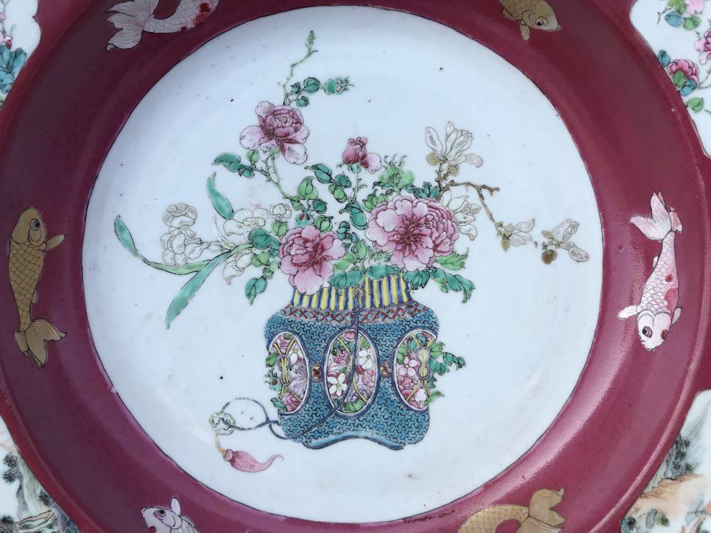 Famille rose Porcelaine Yongzheng (1723-1735), circa 1730, Chine