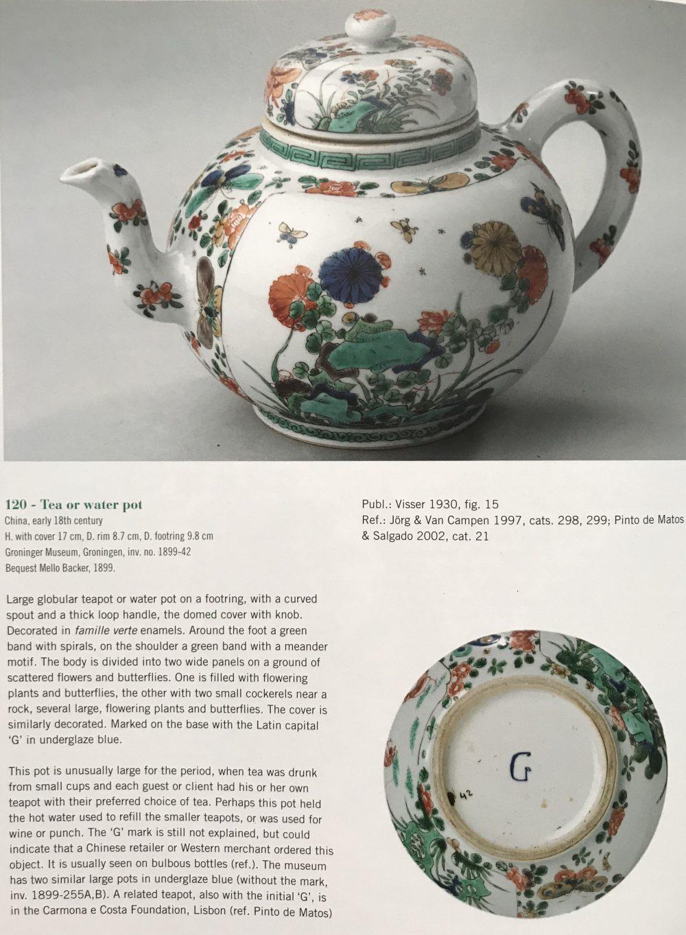 Famille verte Porcelaine Kangxi (1662-1722), ca. 1700, Chine