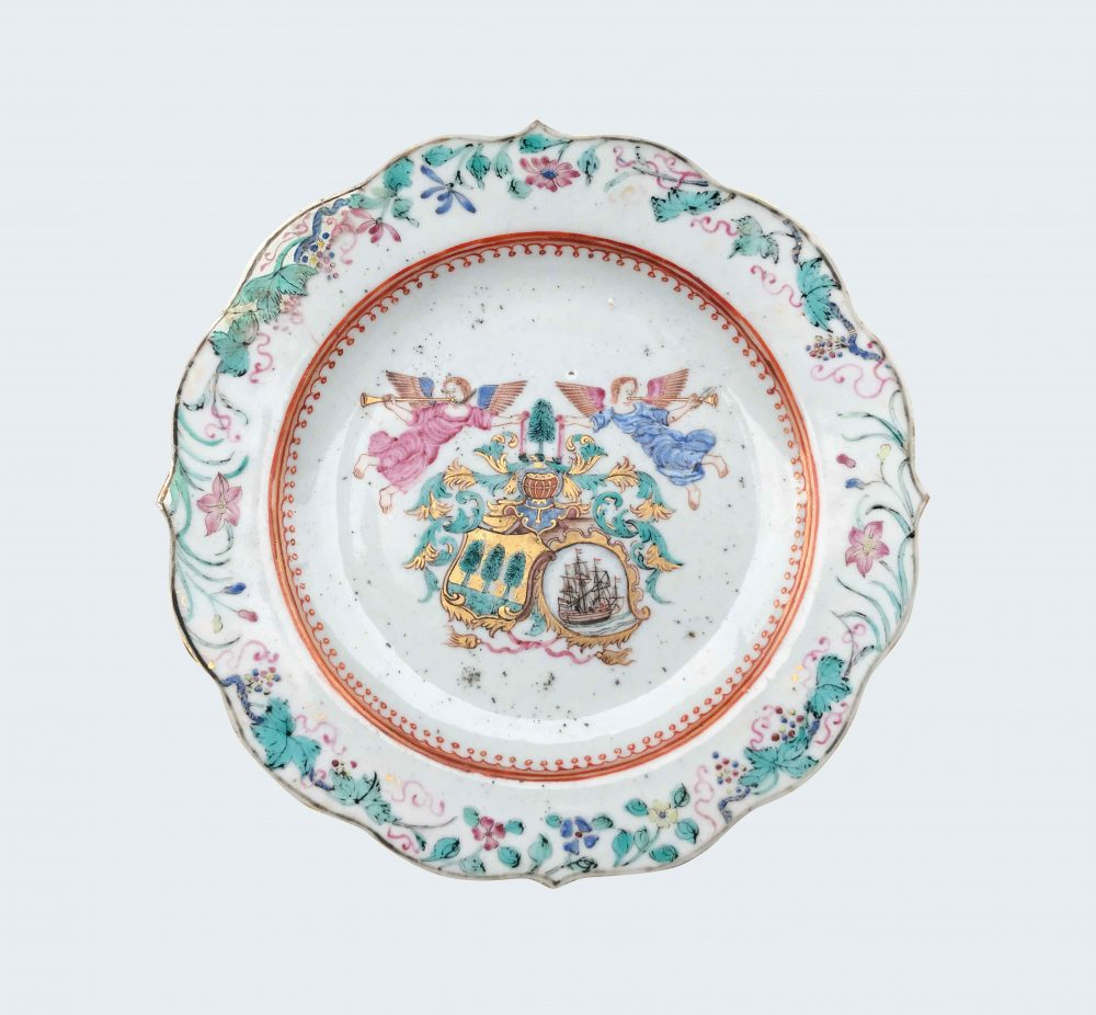 Famille rose Porcelaine Qianlong (173§-1795), circa 1756-1757, Chine