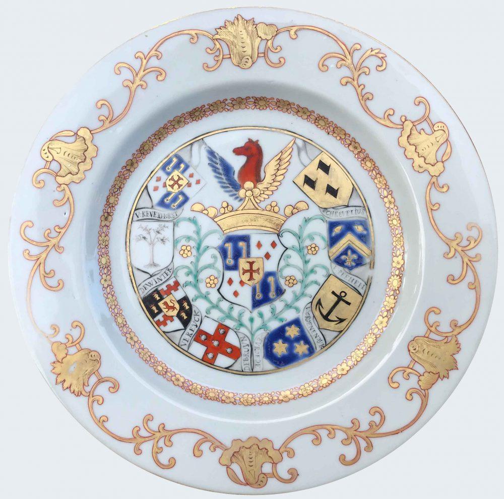 Porcelain Qianlong (1735-1795), circa 1745, Chine