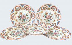 Porcelaine Qianlong (173§-1795), circa 1740, Chine