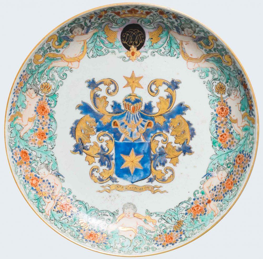 Porcelaine Qianlong (1736-1795, datée 1744), Chine