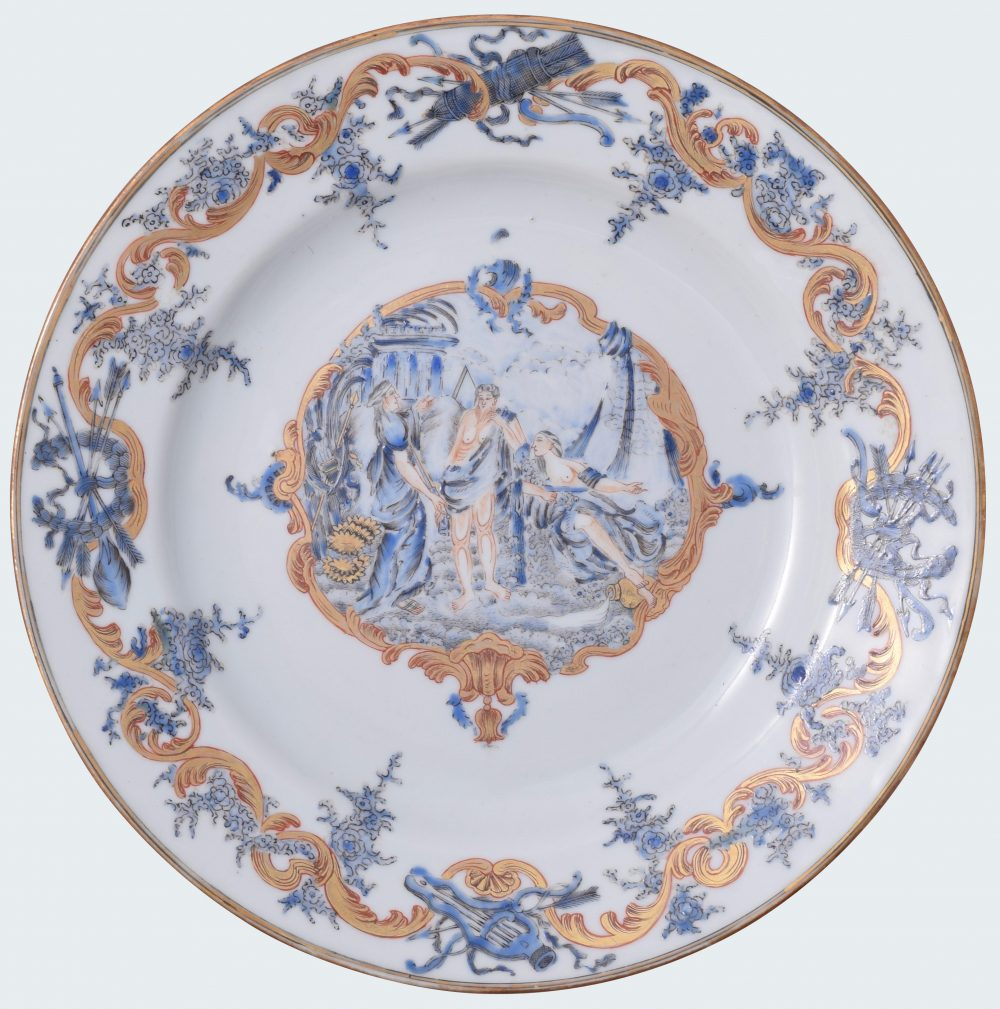 Porcelain Qianlong (1735-1795), circa 1745/1750, China