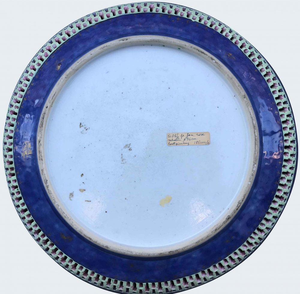 Famille rose Porcelaine Qianlong (1736-1795) , Chine