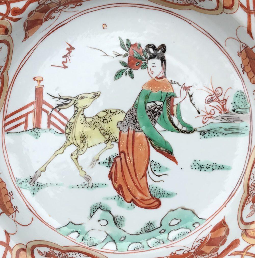 Famille verte Porcelaine Kangxi (1662-1722), ca. 1710, Chine