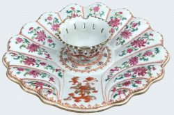 Famille rose Porcelaine Qianlong (1735-1795), ca. 1740/1750, China
