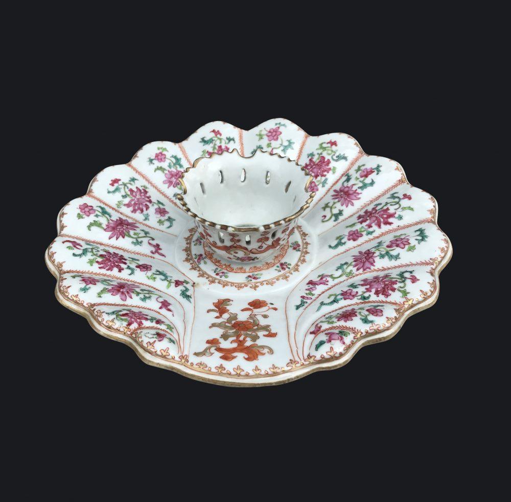Famille rose Porcelaine Qianlong (1735-1795), ca. 1740/1750, China