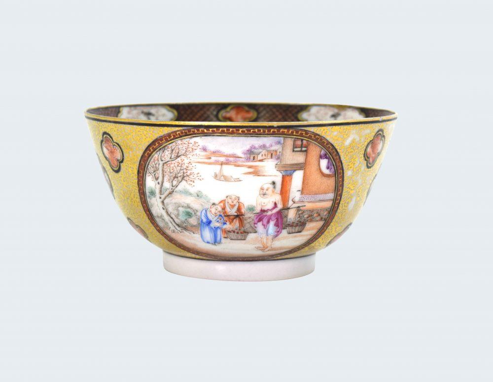 Famille rose Porcelaine Fin de l'époque Qianlong (1736-1795), circa 1790-1800, Chine