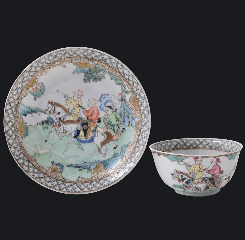 Famille rose Porcelaine Yongzheng (1723-1735), China