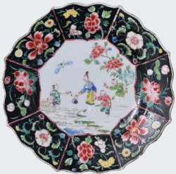 Famille rose Porcelaine Yongzheng (1723-1735), Chine