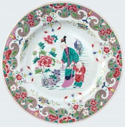 Porcelaine Yongzheng (1723-1735) / Qianlong (1736-1795), circa 1730/1740, Chine