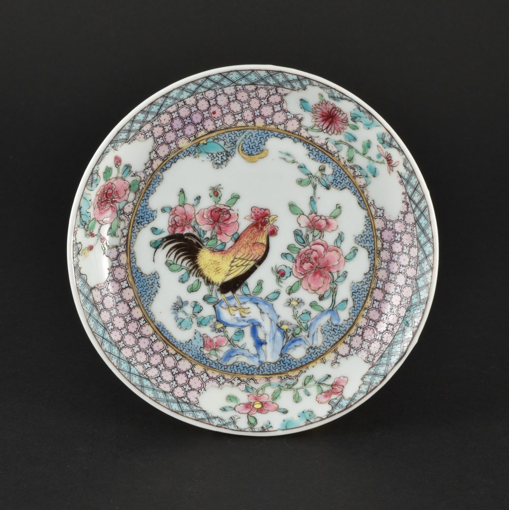 Famille rose Porcelaine Yongzheng (1723-1735), ca. 1730, Chine