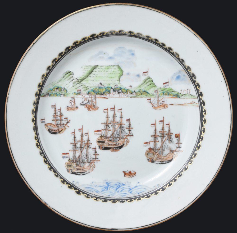 Porcelain Qianlong (1735-1795), circa 1740, Chine