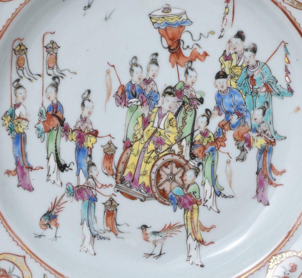 Famille rose Porcelaine Qianlong (1735-1795), ca. 1760, Chine