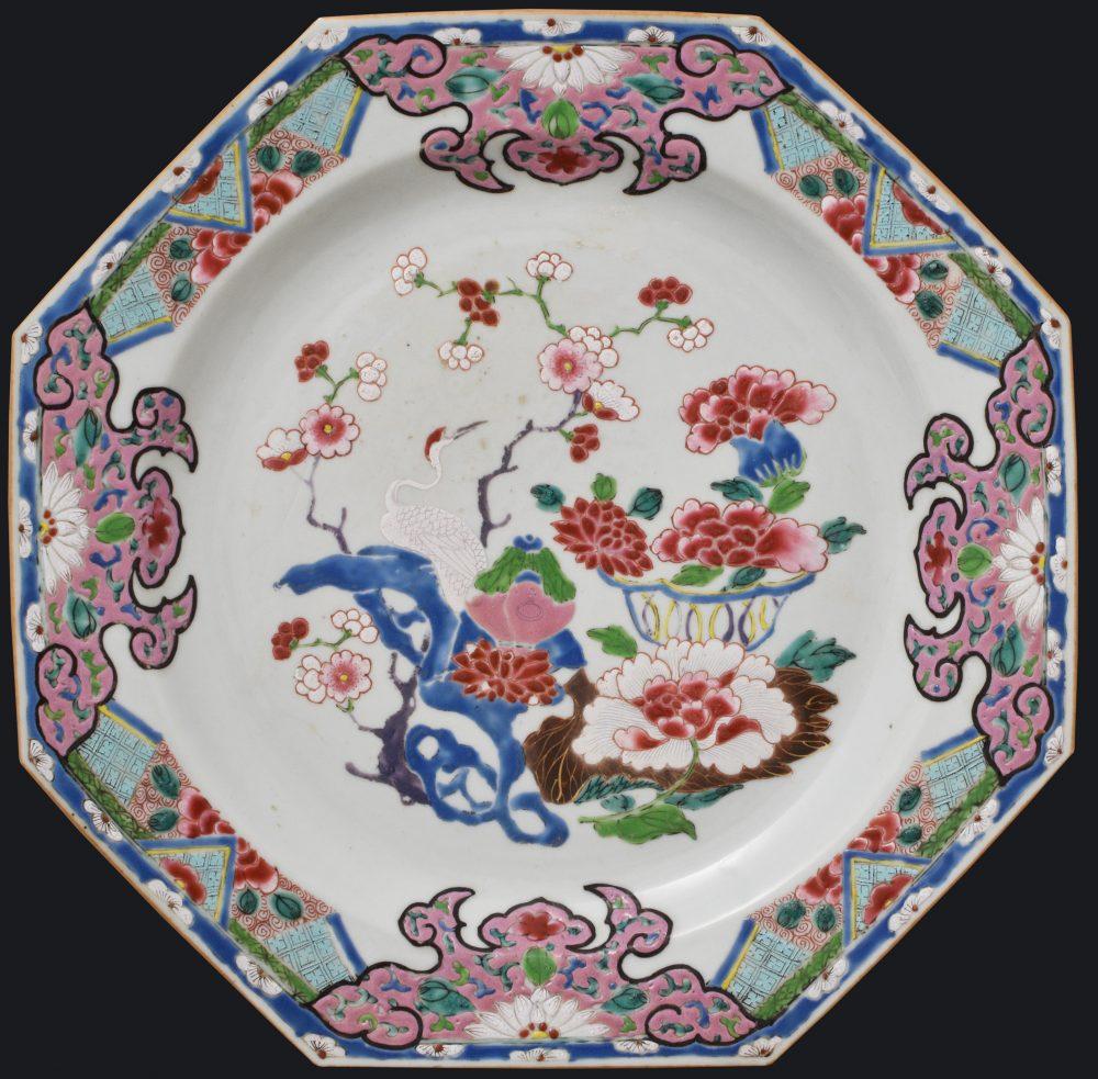 Famille rose Porcelaine Yongzheng (1723-1735)/Qianlong (1736-1795), ca. 1730/1740, Chine