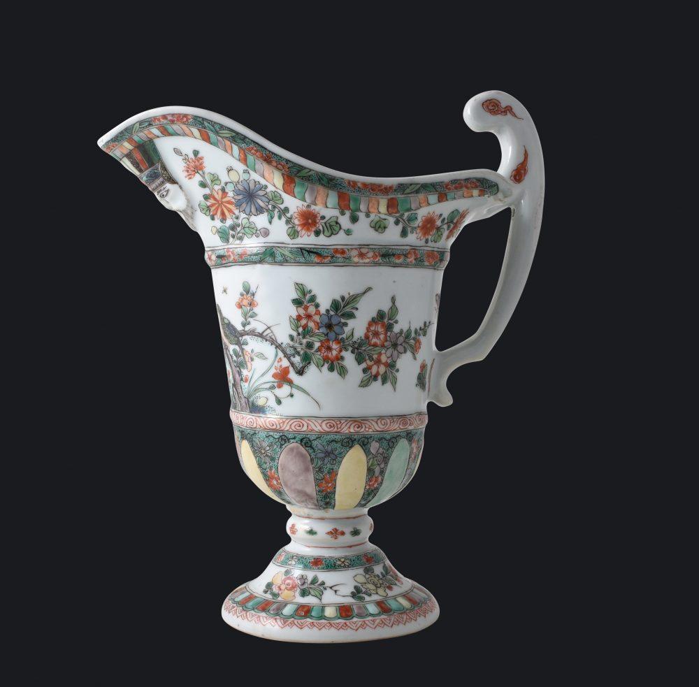 Famille verte Porcelaine Kangxi (1662-1722), ca. 1700, Chine, pour le marché français
