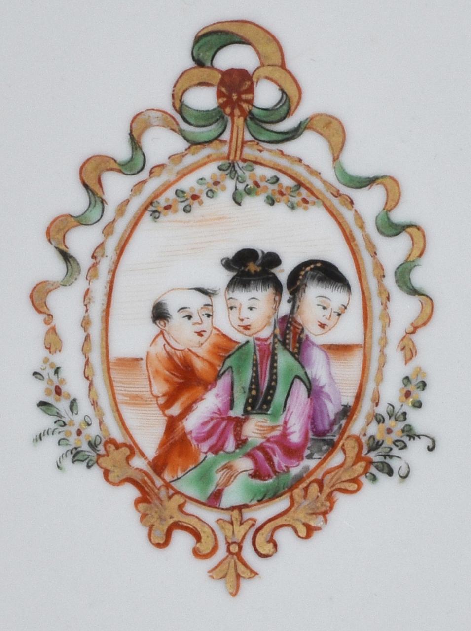 Famille rose Porcelaine Qianlong (1735-1795), circa 1780, Chine