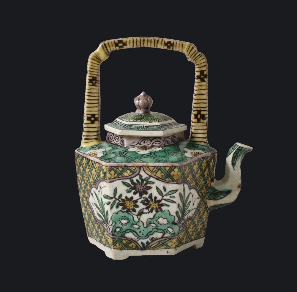 Famille verte Porcelaine Kangxi (1662-1722), ca. 1680, Chine