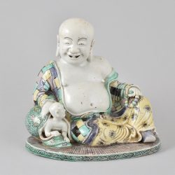 Famille verte Porcelaine (biscuit) Kangxi (1662-1722), Chine