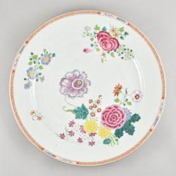 Famille rose Porcelaine  Qianlong (1735-1795), ca. 1760/70, Chine