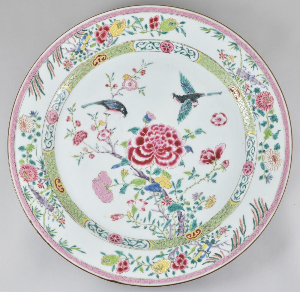 Famille rose Porcelaine Yongzheng (1723-1735), ca. 1735/1740, Chine