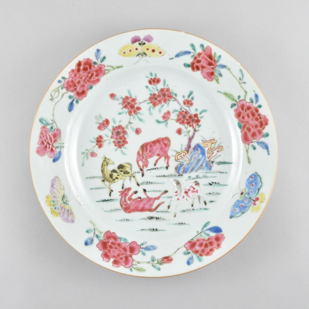 Famille rose Porcelaine Yongzheng (1723-1735), ca. 1730/1740, Chine