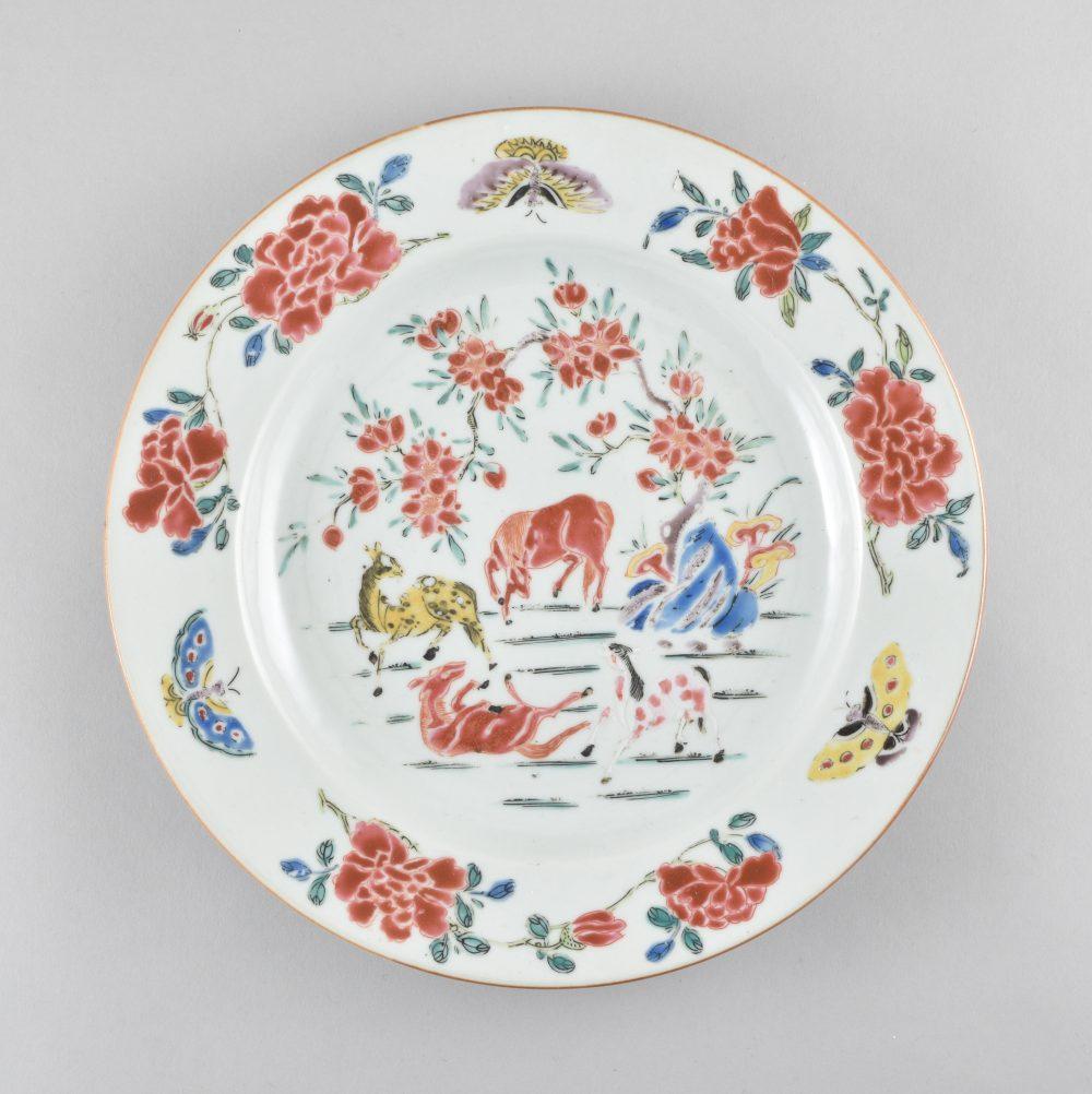 Famille rose Porcelaine  Yongzheng (1723-1735) / Qianlong (1736-1795), ca. 1730-1740, Chine