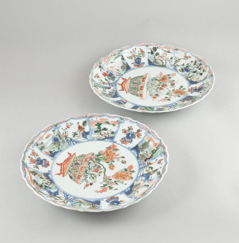 Famille verte Porcelaine Kangxi (1662-1722), ca. 1700/1720, China