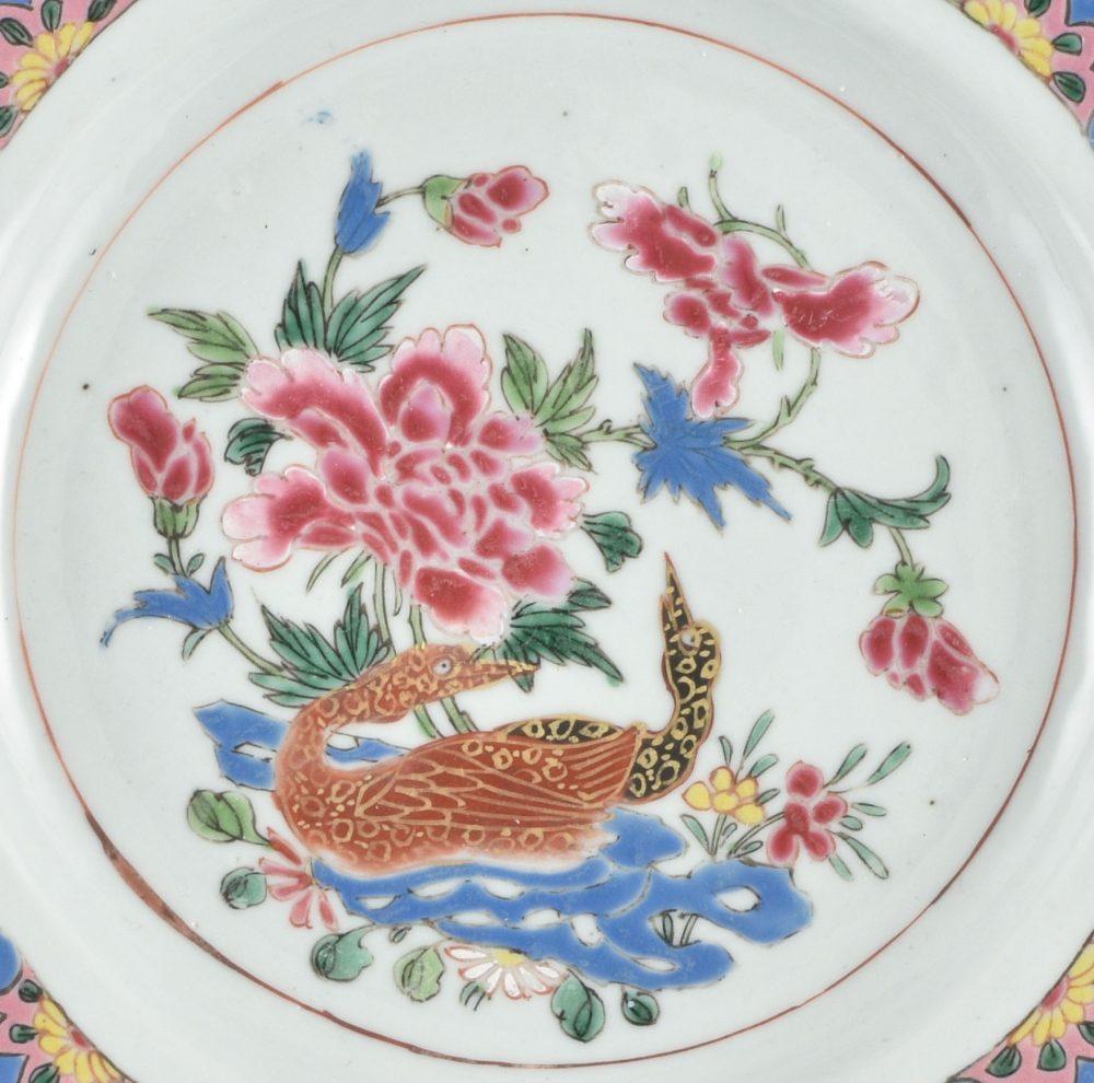 Famille rose Porcelaine Yongzheng (1723-1735) / Qianlong (173§-1795), circa 1730/1740, Chine
