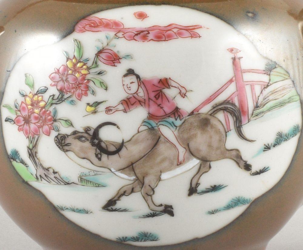 Famille rose Porcelaine Début de l'époque Qianlong (&736-1795), Chine