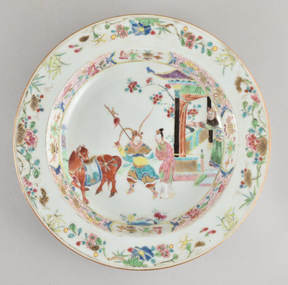 Famille rose Porcelaine Fin de l'époque Yongzheng / Début de l'époque Qianlong, ca. 1735-1740, China