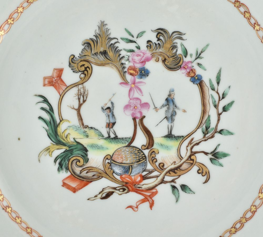 Famille rose Porcelaine  Qianlong (1735-1795), ca. 1775, Chine (probablement pour le marché espagnol)