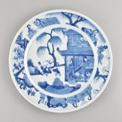Porcelaine  Kangxi (1662-1722),fin du XVIIe siècle, Chine