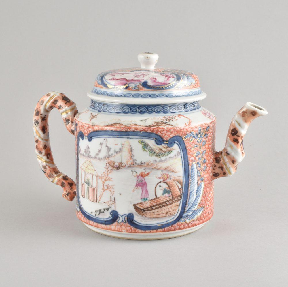 Porcelaine (biscuit) Qianlong (1735-1795), Chine