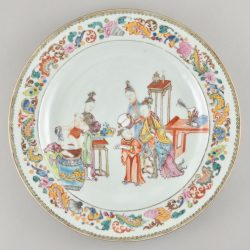 Famille rose Porcelaine Qianlong period (1736-1795), circa 1750/1760, China