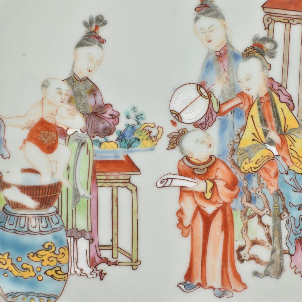 Famille rose Porcelaine Qianlong period (1736-1795), circa 1750/1760, China