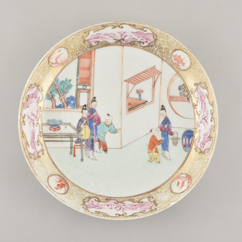 Porcelaine Qianlong (1735-1795), circa 1750/1760, Chine