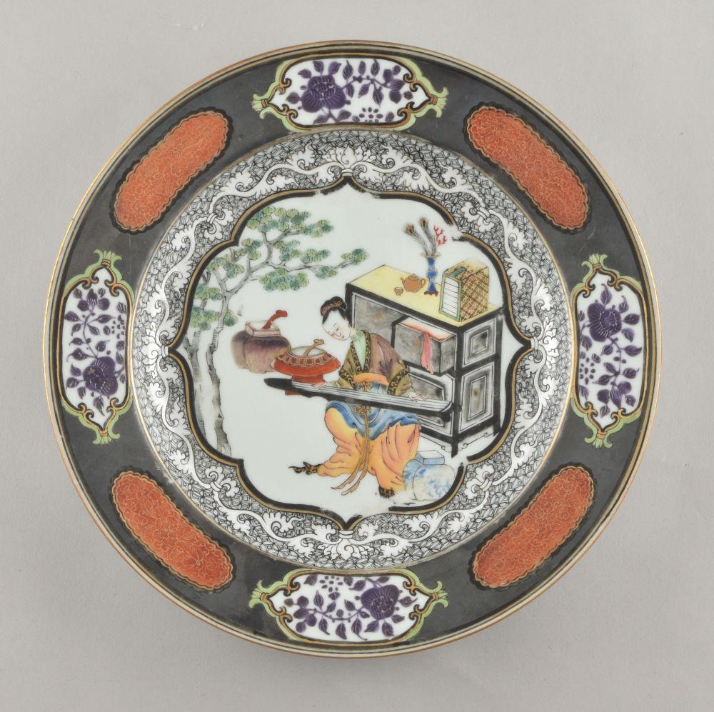 Famille rose Porcelain Yongzheng (1723-1735), ca. 1730, Chine