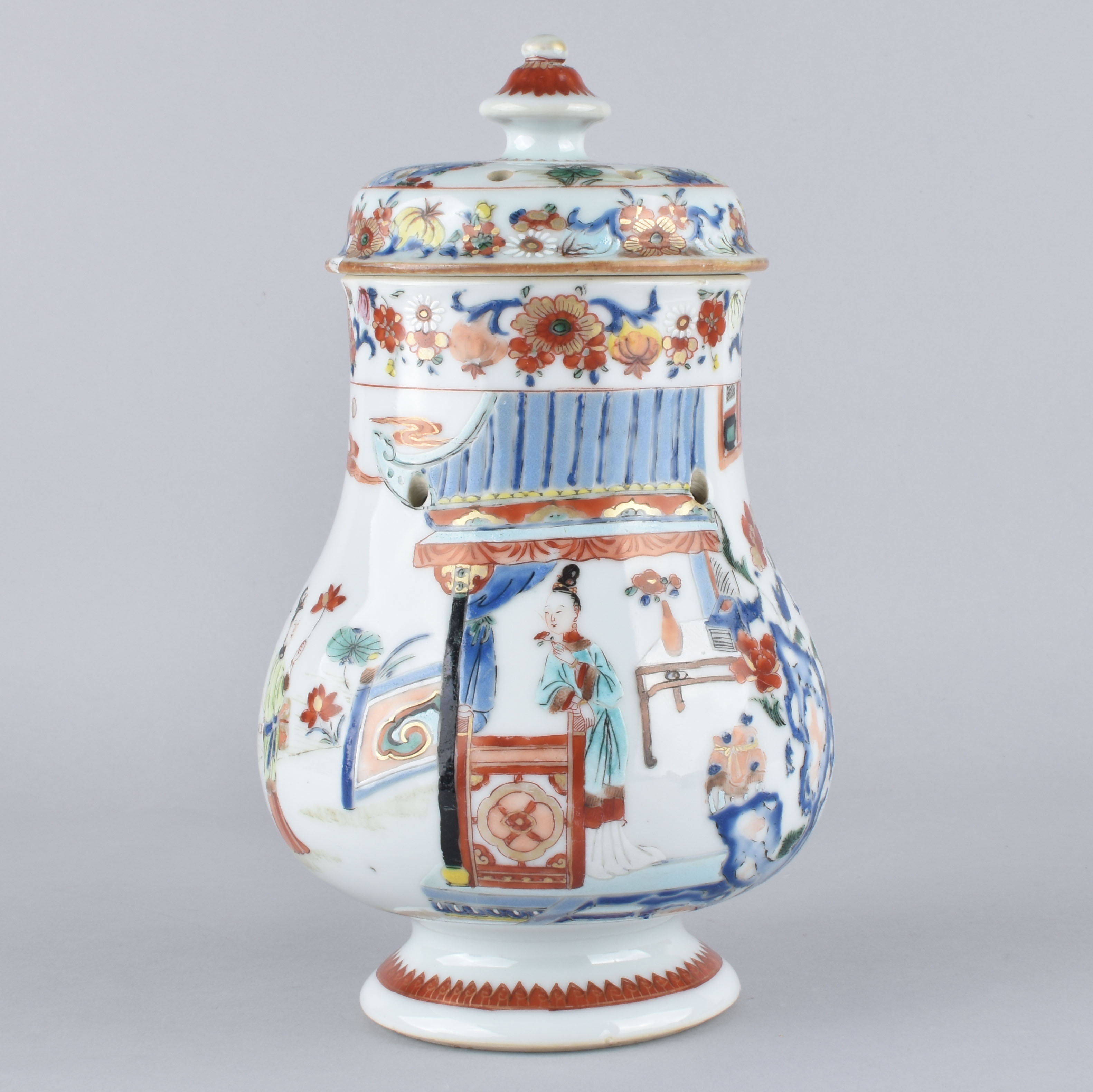 Famille rose Porcelaine Yongzheng (1723-1735), ca. 1725/1730, Chine