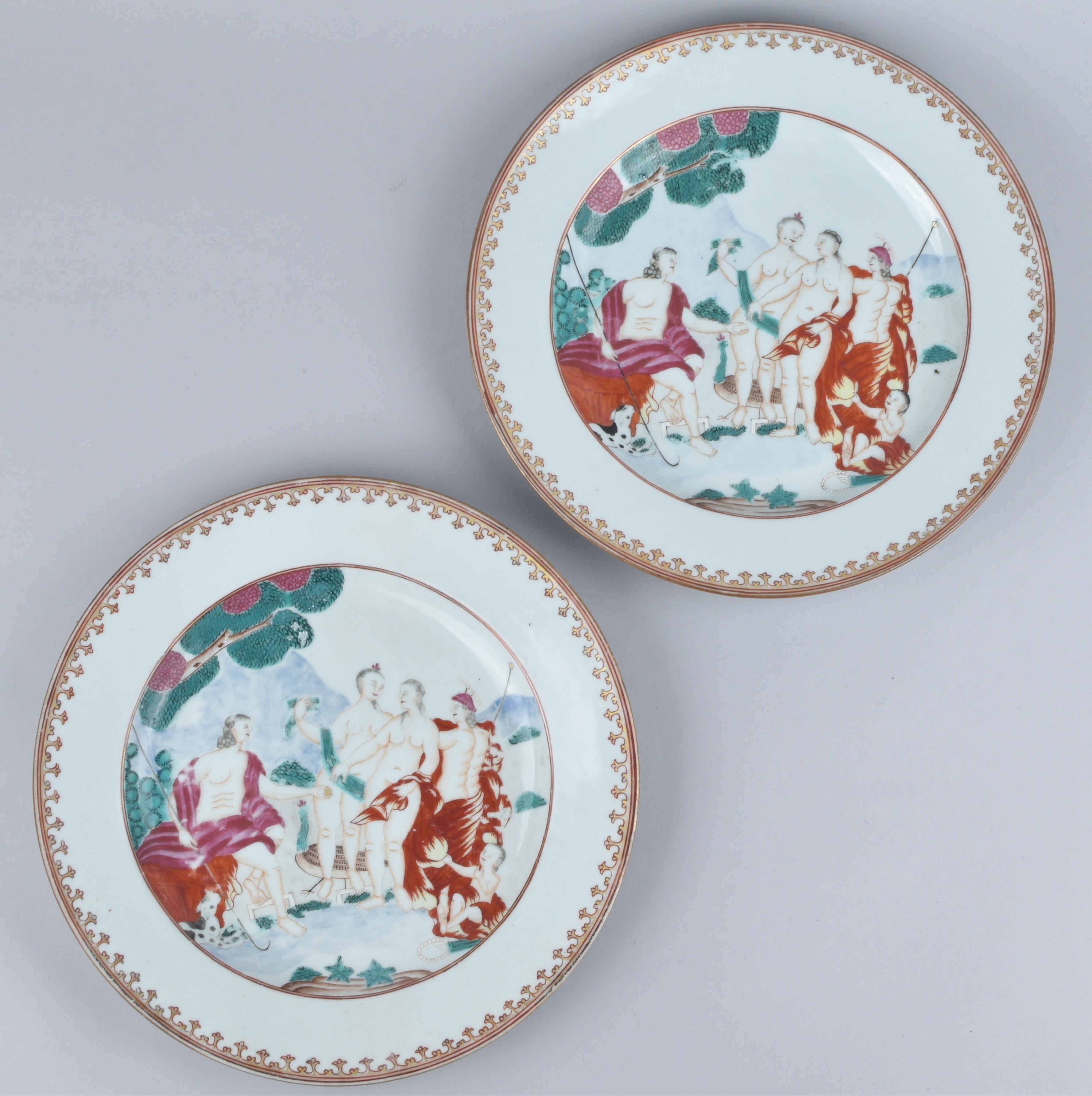 Porcelaine (biscuit) Qianlong (1735-1795), circa 1750/1760, China